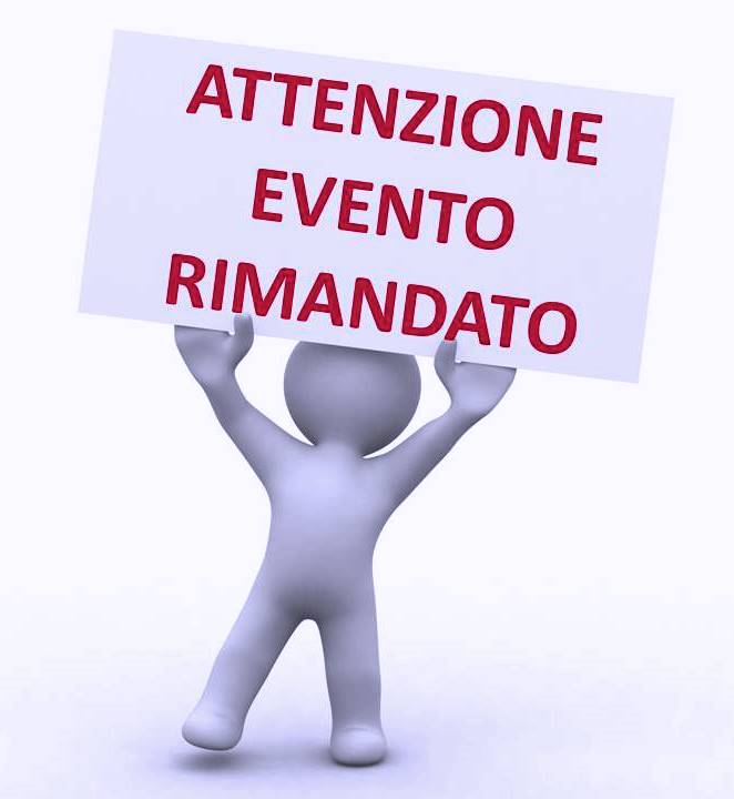 Workshop 24/11 - incontro annullato.