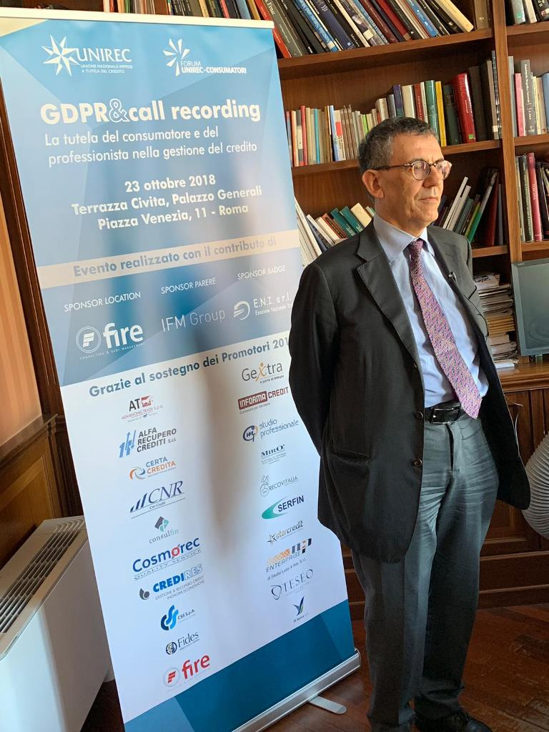 Workshop GDPR&call recording - il punto di vista del Garante privacy